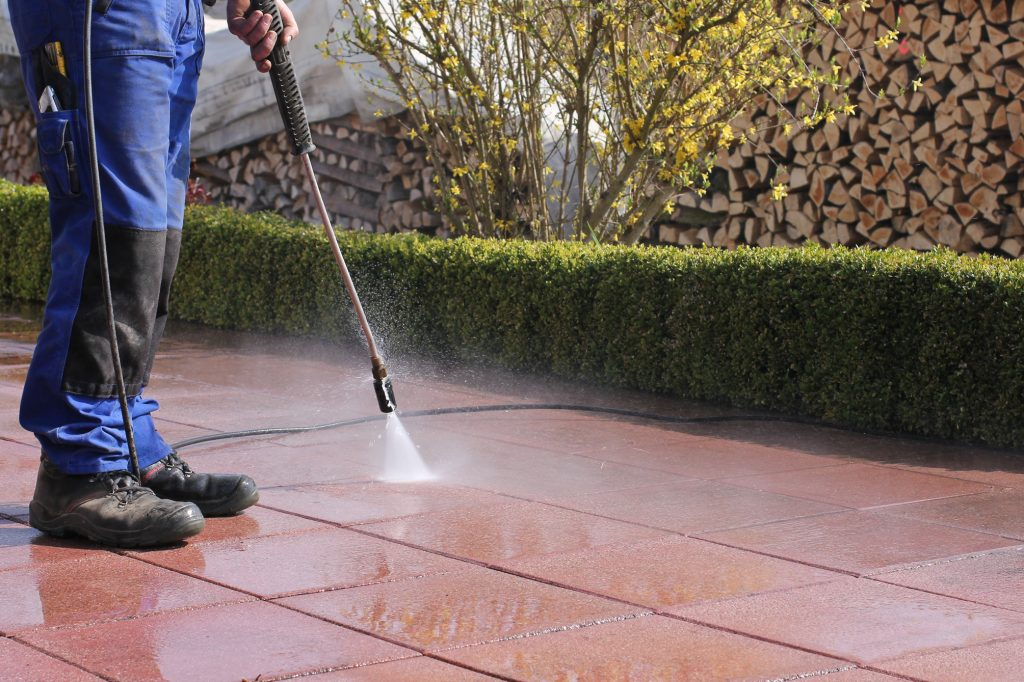 Paver And Patio Restoration Cleaning Re Sand And