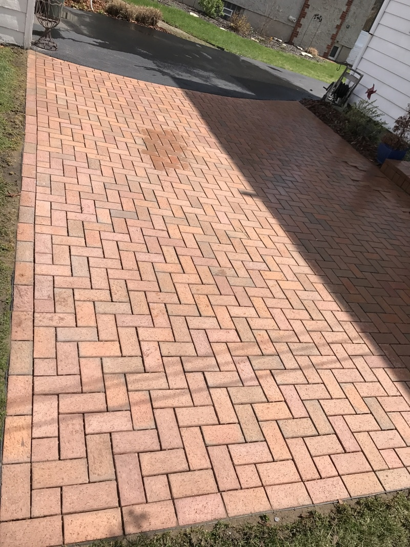 After Cleaning - Patio Services Cleaning, Polymeric Re-Sand, And Seal Columbus, Ohio