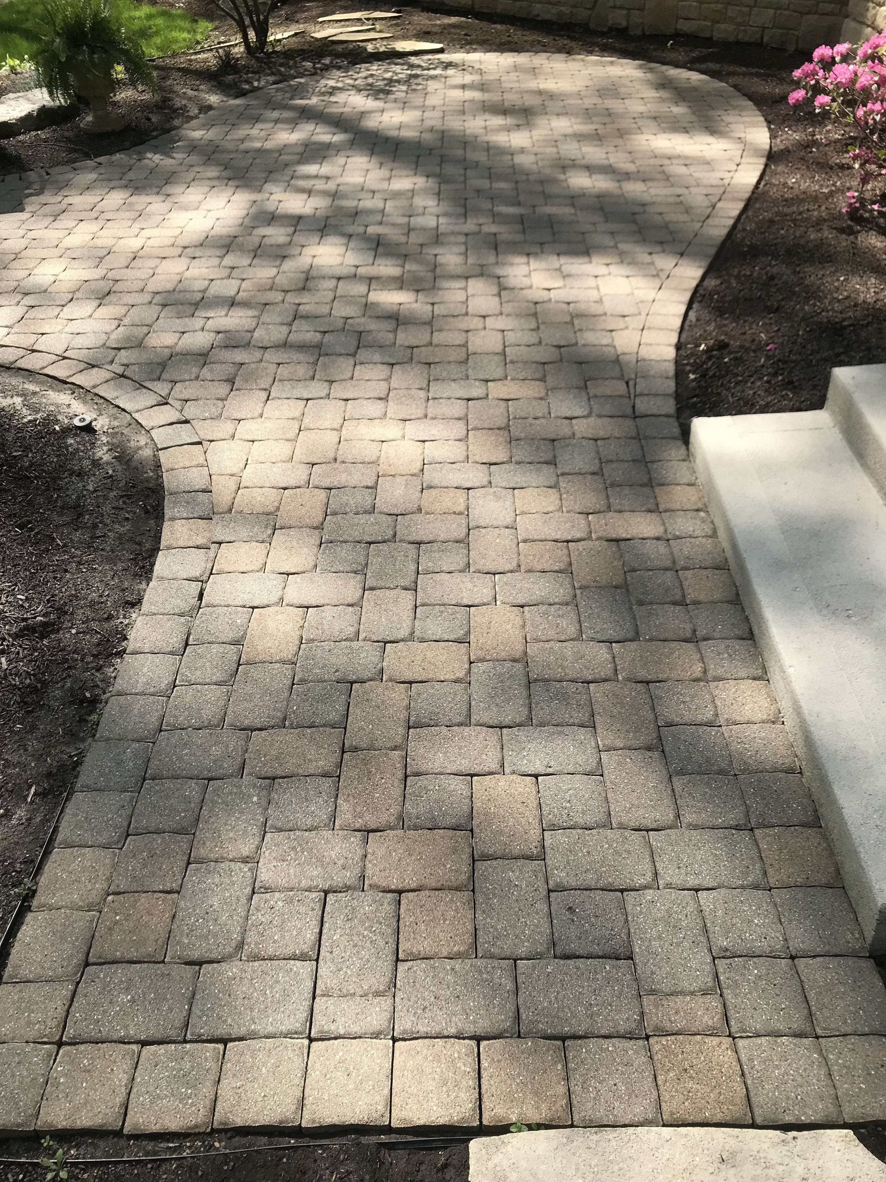 Patio Paver Polymer Re-Sand