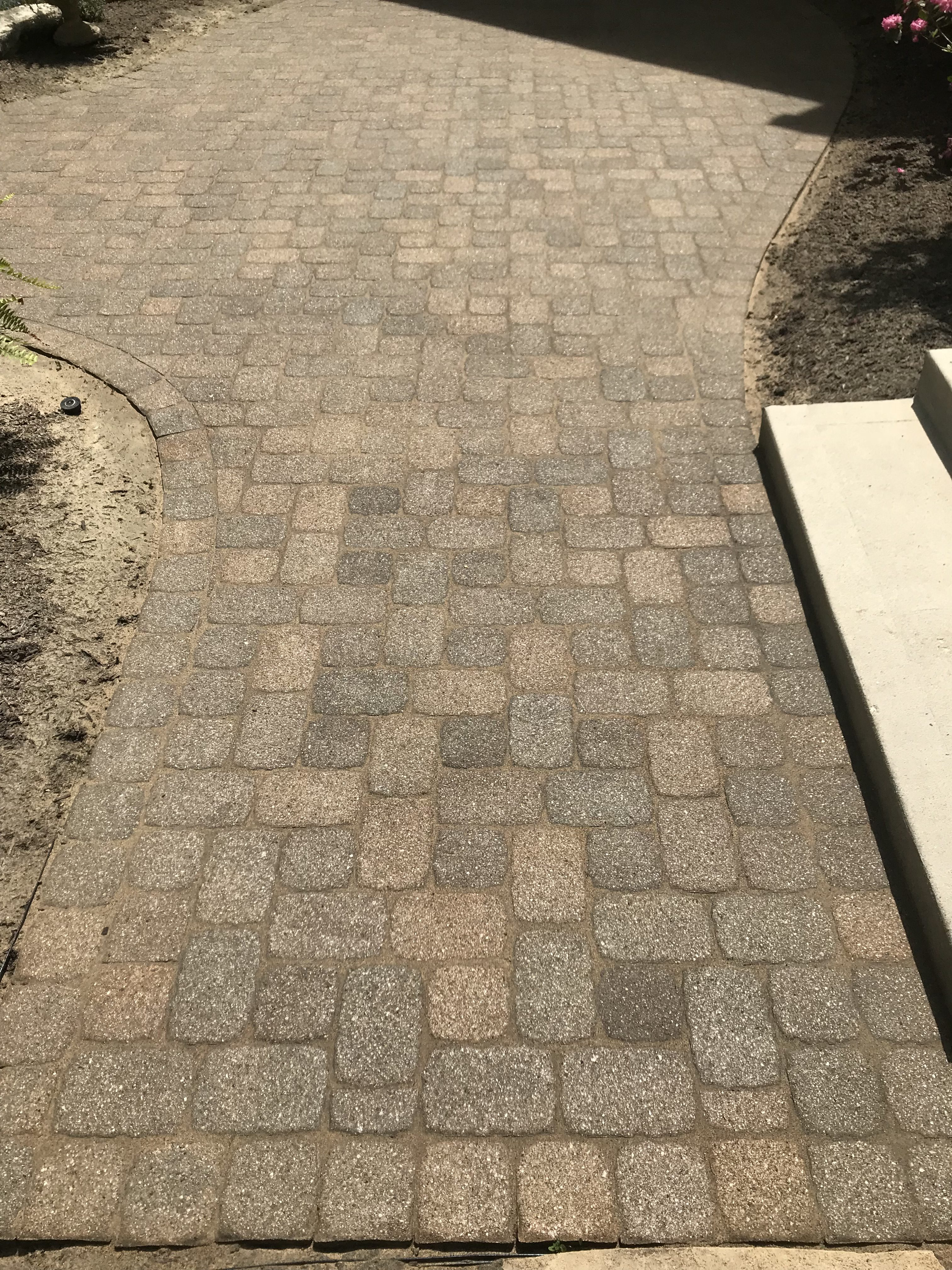 Patio Paver Sealing